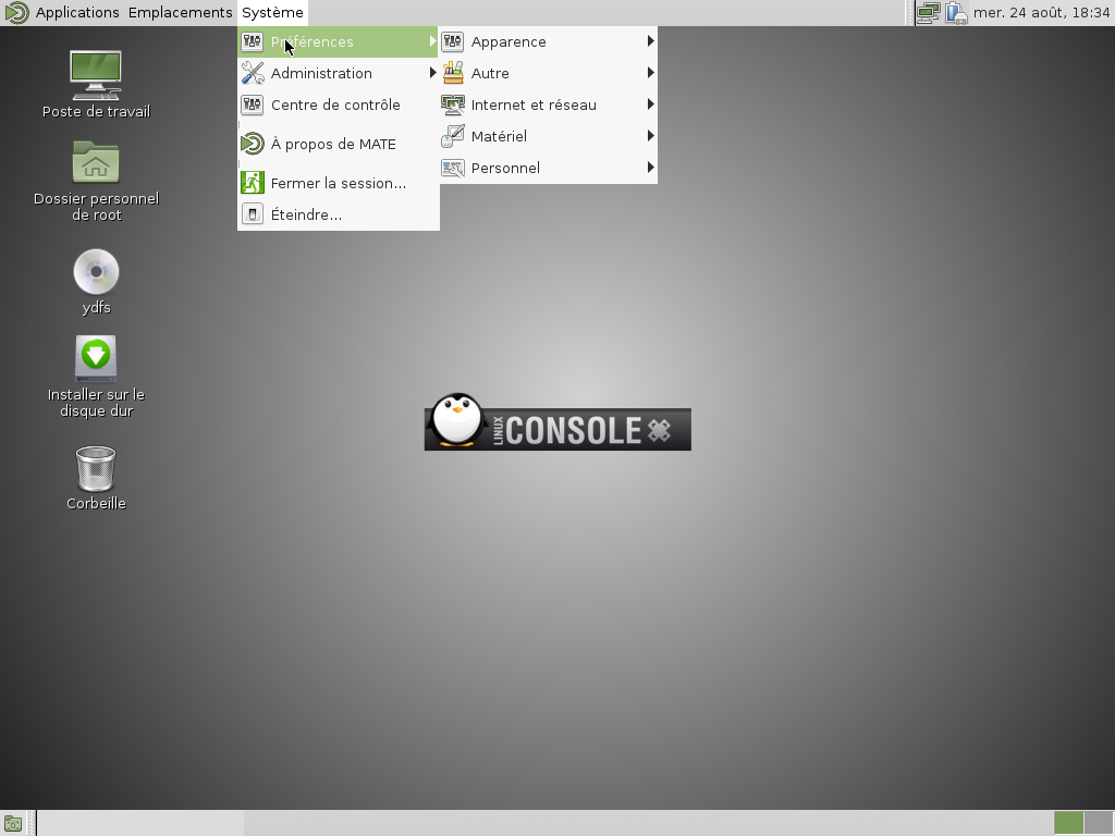 linuxconsole-mate